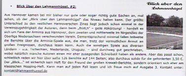 """Rezension der 2. Ausgabe von """"Der kleine Zeitvertreib #9"""""""